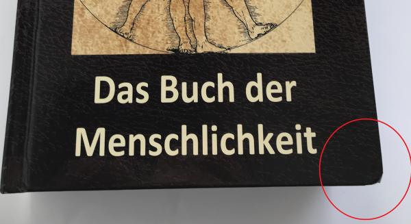 Codex Humanus - Das Buch der Menschlichkeit (Mängelexemplar)