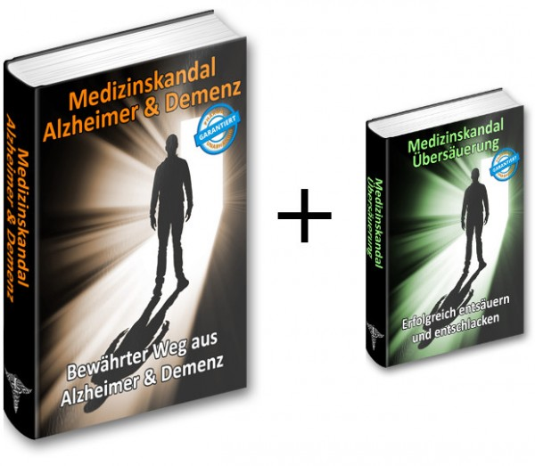 """Medizinskandal Alzheimer/Demenz - """"Bewährte Wege aus Alzheimer&Demenz"""""""