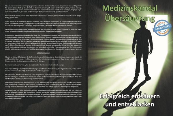 Medizinskandal Übersäuerung (gebundenes Buch)