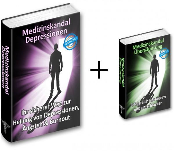 Medizinskandal Depressionen - Ihr sicherer Weg zur Heilung von Depressionen, Ängsten&Burnout